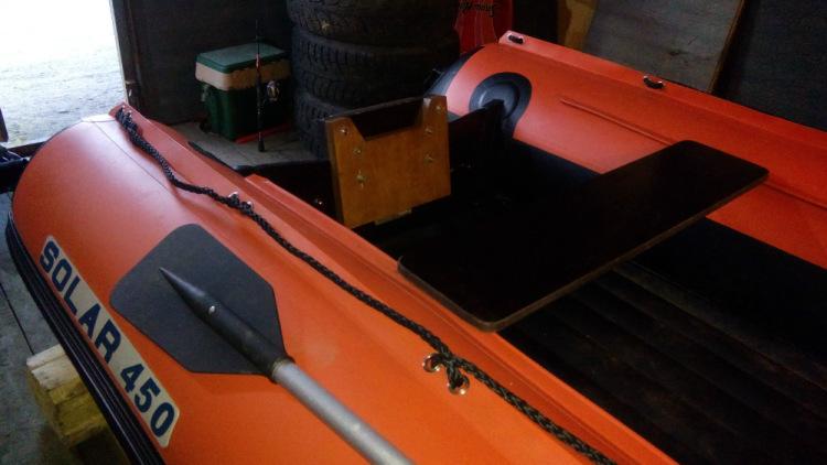 доработка лодок пвх своими руками видео