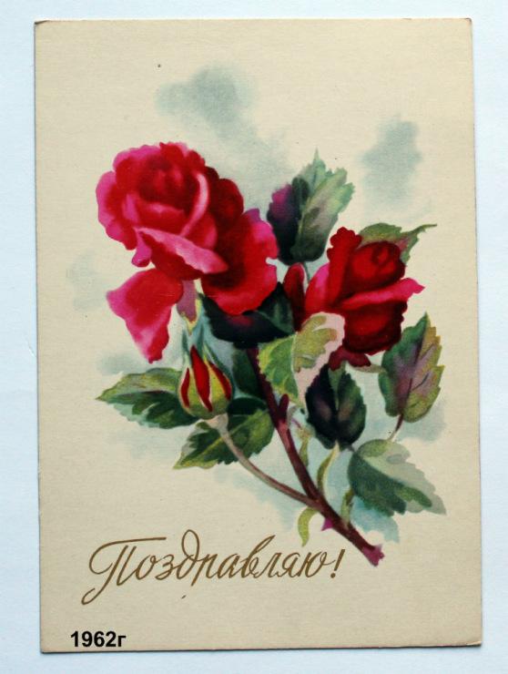 Цветы для оленьки открытка 6