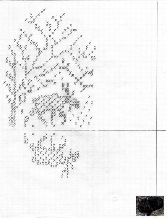 Вязание варежек с рисунком 93