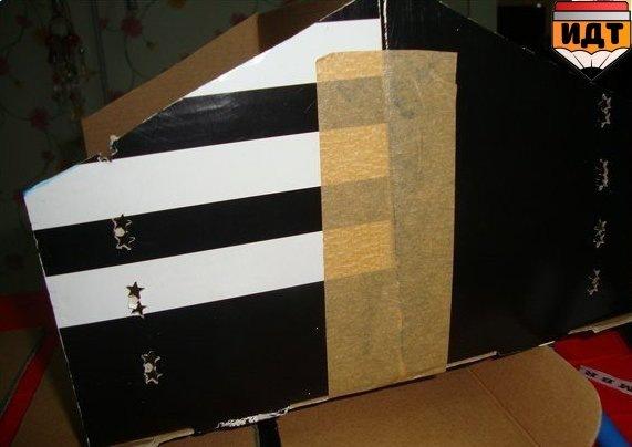Органайзер из обувной коробки мастер класс