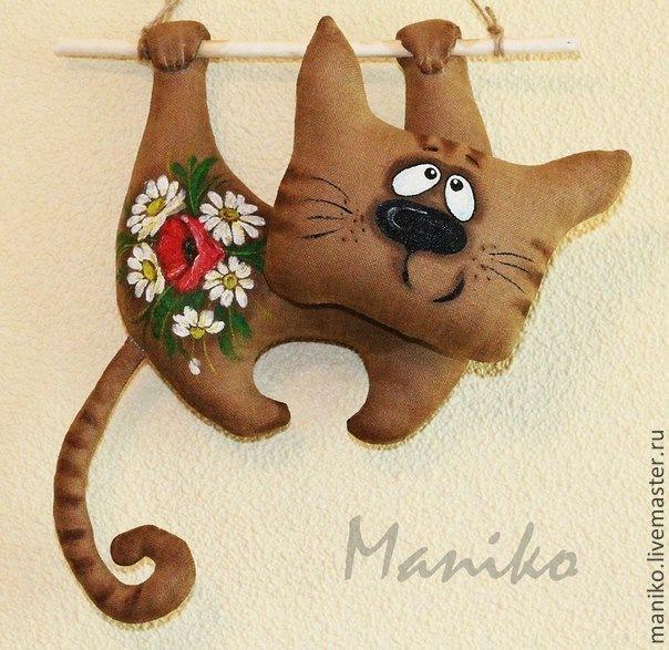 Игрушка кот мастер-класс