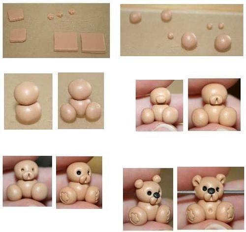 Как сделать лепку из полимерной глины