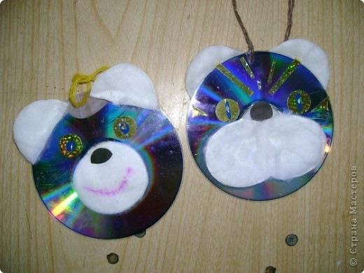 Поделки из дисков своими руками все новинки