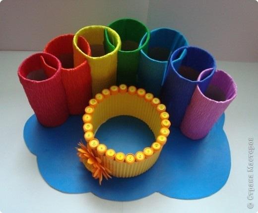 Поделки из трубочек из туалетной бумаги своими руками