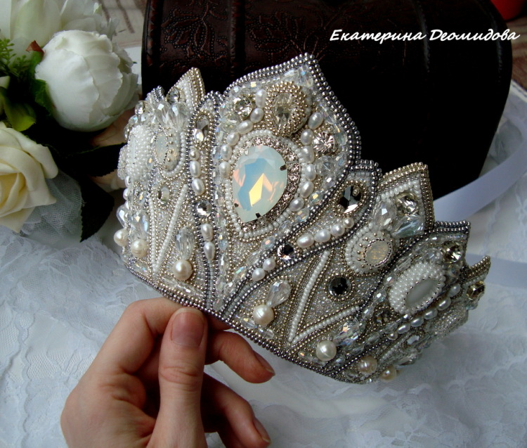 Корона принцесса лебедь своими руками 28