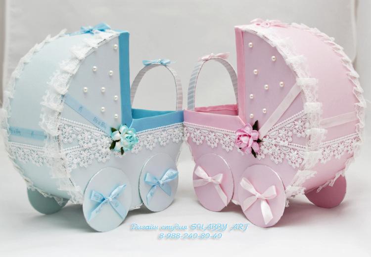 Размеры колясок на свадьбу