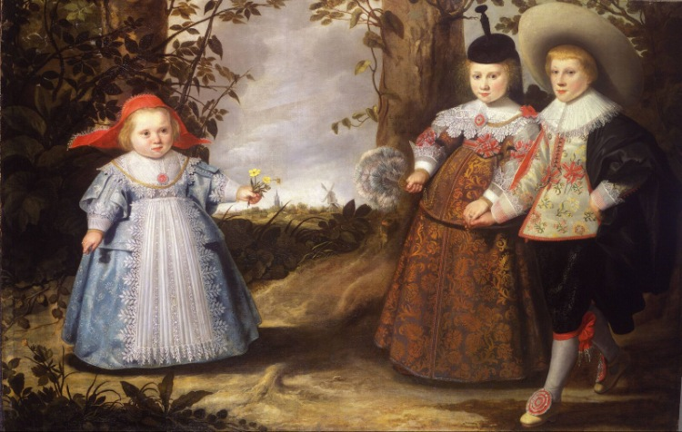 the views about children in the seventeenth century