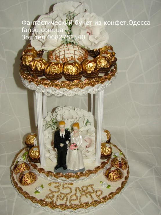 Подарок на юбилей свадьбы 35 лет