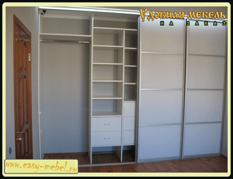 Шкафы встроенные фото.