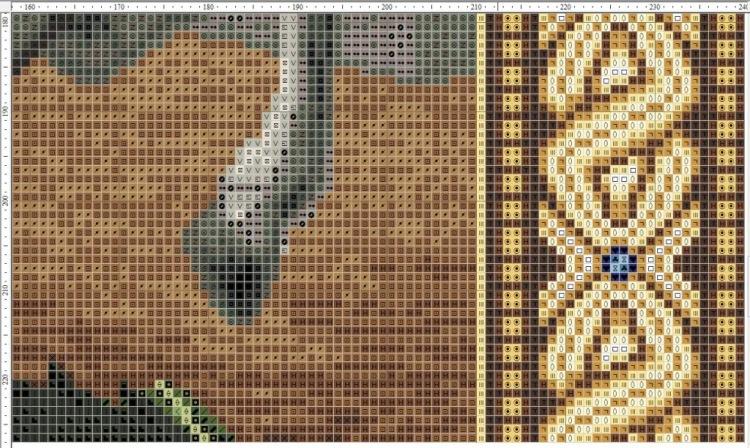Схема вышивки иконы георгий победоносец
