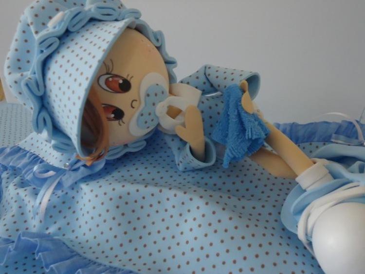 Как сделать лицо куклы из молда 128