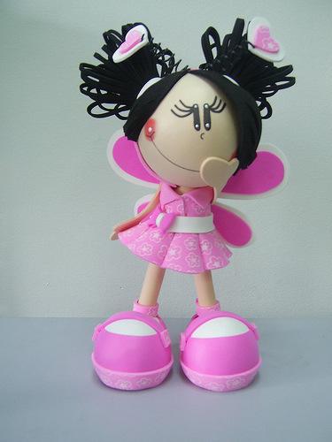 Куклы из фоамирана своими руками с пошаговым фото 27