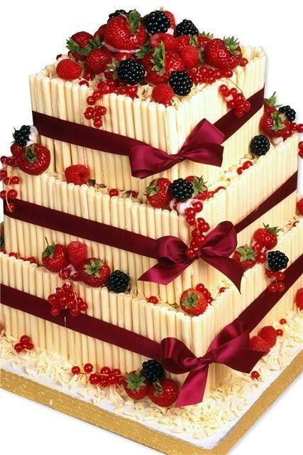 Фото красывых тортов