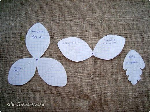 Орхидеи из лент своими руками мастер класс для начинающих