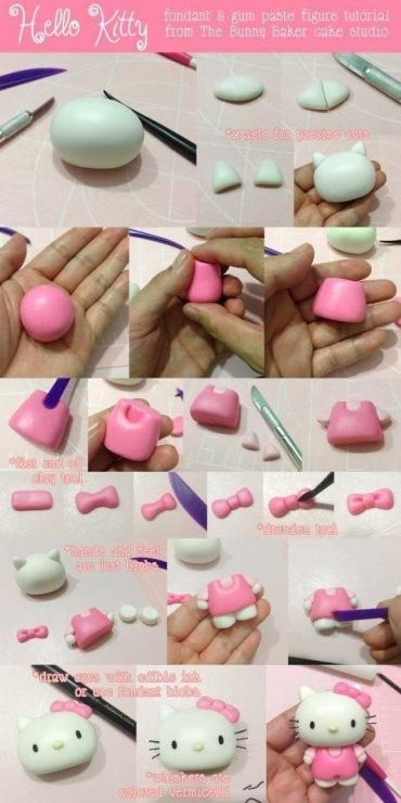 Полимерная глина мастер класс для начинающих фигурки
