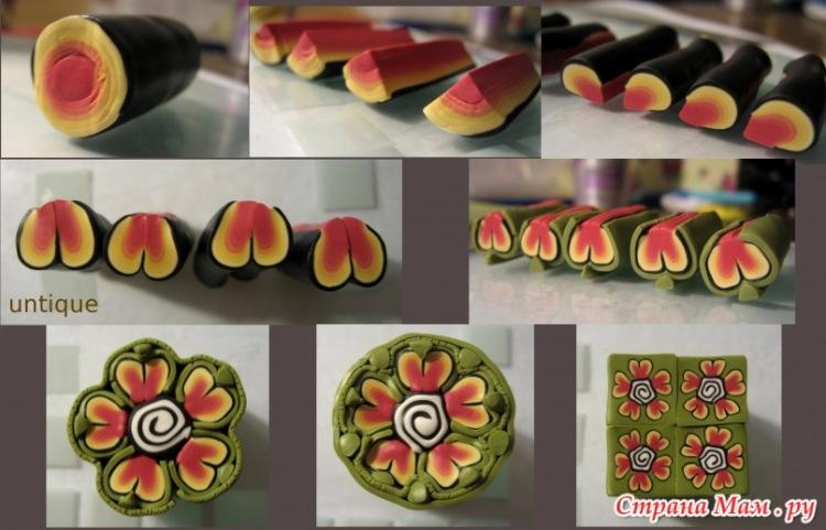 Видео мастер классы поделки из полимерной глины