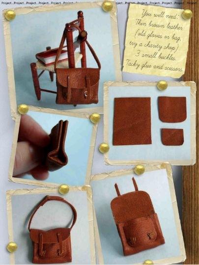 Как сделать своими руками сумку для кукол