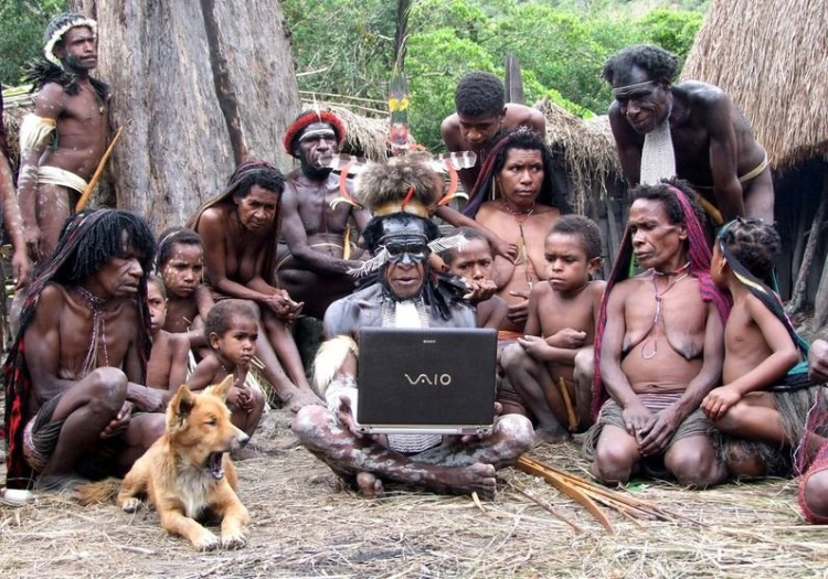 Фото племен голых