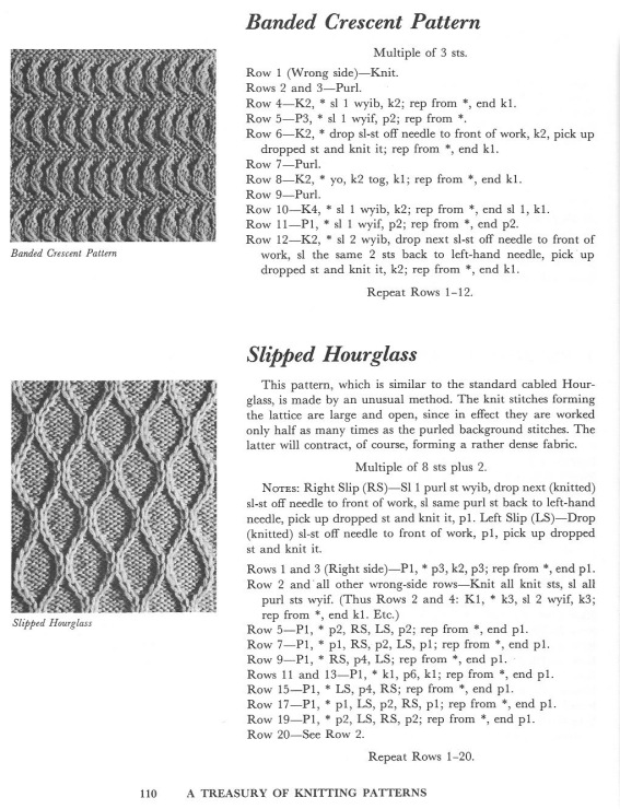 All About A Treasury Of Knitting Patterns Barbara G Walker