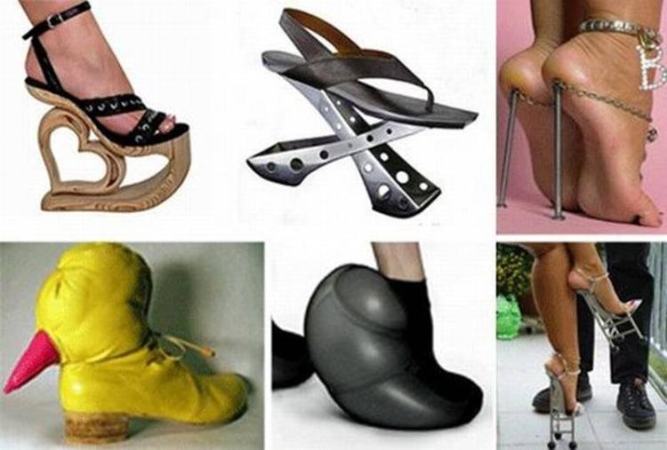 Смешная обувь своими руками 40
