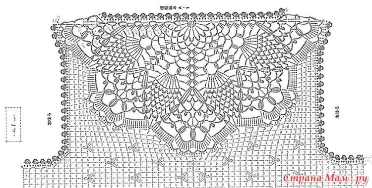 Осинка бесплатные схемы вязания крючком