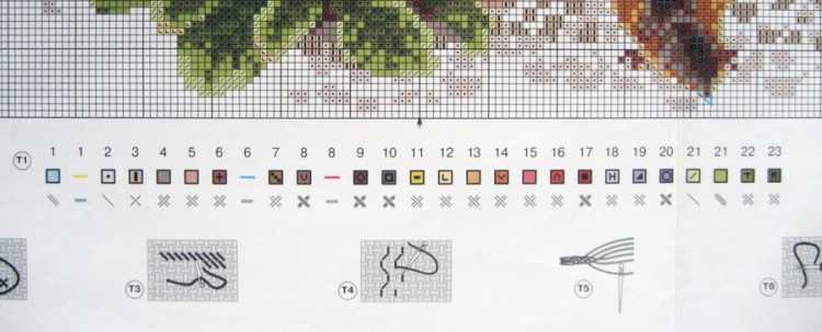 Вышивка риолис 1480 схема 79