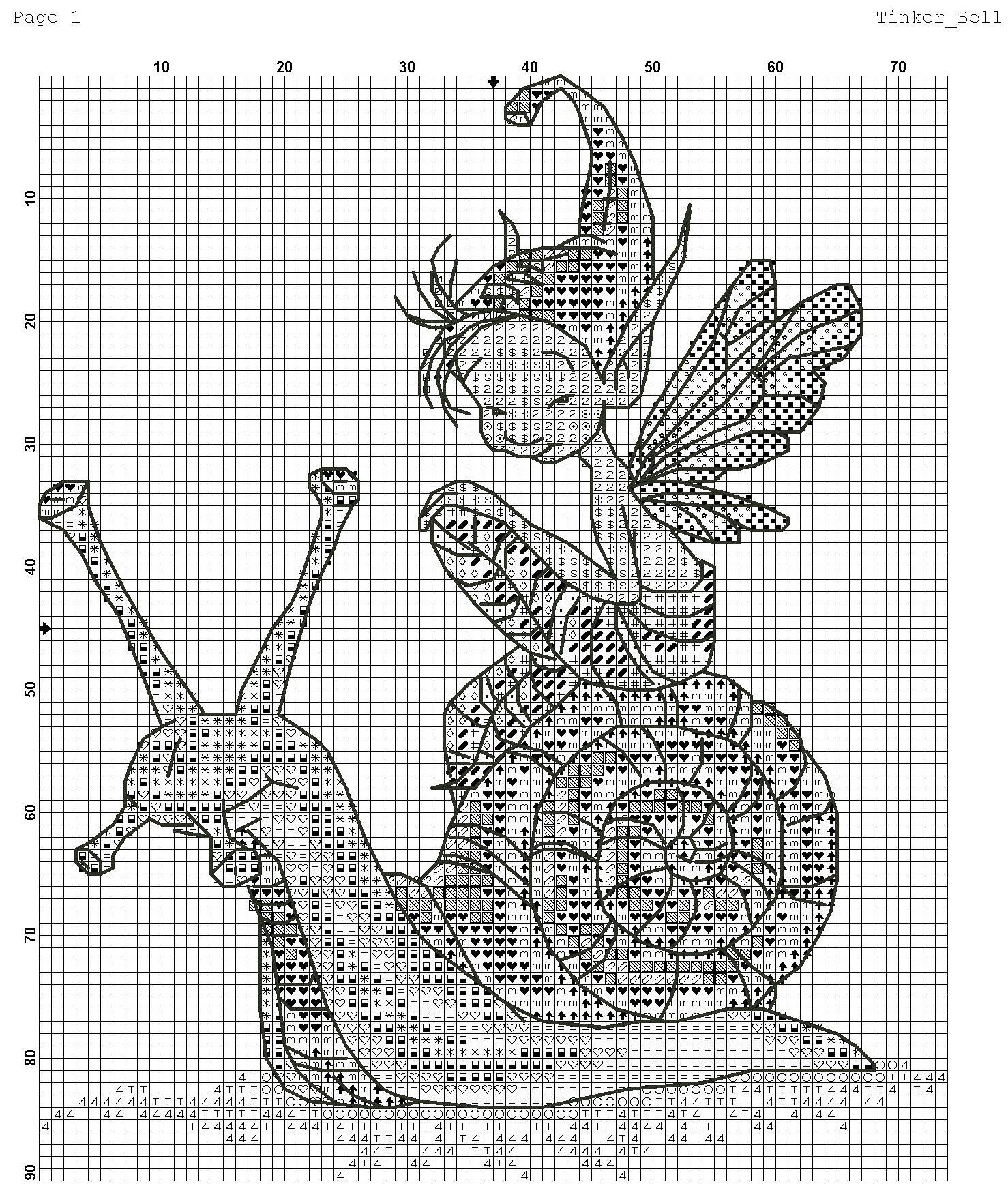 Nimue Схемы для вышивки крестом Печатная продукция 78